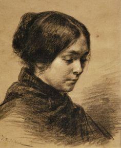 Jean-Francois Millet - Catherine Lemaire (1848-49)