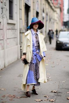 Ciao Milano! The Best Style From The Streets - HarpersBAZAAR.com