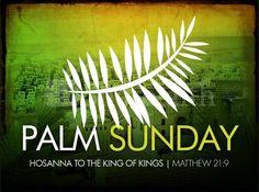 #PalmSunday hashtag on Twitter