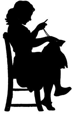 vintage silhouette clip art - Google Search