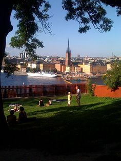 Ivar Los Park, Södermalm - makes me want to be there!