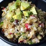Golden Quinoa Salad with Lemon, Dill & Avocado