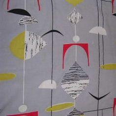 Marion Mahler textile design circa 1950s