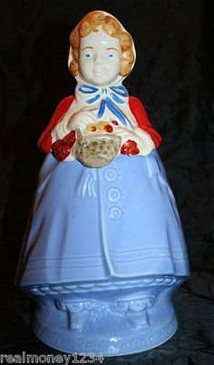 Vintage Cronin China Pottery Guild Little Red Riding Hood Cookie Jar