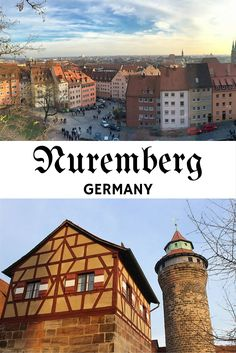 What you need to see in Nuremberg, Germany, including the beautiful, historic old town, castle, and the incredible Christmas market!