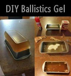 Ballistics gel