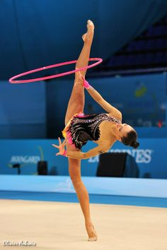 Jana Berezko-Marggrander, Rhythmic Gymnastics costume inspiration for Sk8 Gr8 Designs