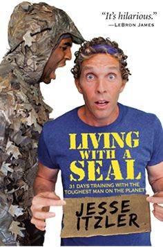 Herunterladen oder Online Lesen Living with a SEAL Kostenlos Buch (PDF ePub - Jesse Itzler, Entrepreneur Jesse Itzler chronicles his month of living and extreme fitness training with a Navy SEAL in the New York. Got Books, Books To Read, New York Times, Any Book, This Book, Best Audible Books, Extreme Workouts, Extreme Fitness, Buddy Movie