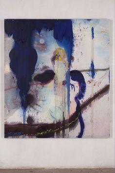 Julian Schnabel at Saatchi gallery