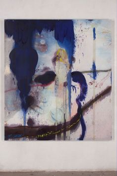 Julian Schnabel at Saatchi gallery