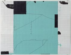 Hanns Schimansky, No Title, 2007, Folding, Indian ink, graphite and gouache on paper, 52.4 x 68.3 cm., Private Collection