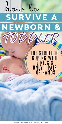 All the best tips for coping with a newborn baby and a toddler! Ways to handle the challenges of going from one to two kids including how to juggle separate schedules, sleep and getting out and about. #parentingtips #newborn #toddler Newborn Necessities, Newborn Baby Tips, How To Juggle, New Mums, Baby Hacks, Having A Baby, Getting Out, Parenting Hacks, Breastfeeding