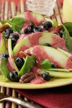 Blueberry Waldorf Salad