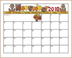 november calendar for 2018 free download calendar download november november printable calendar