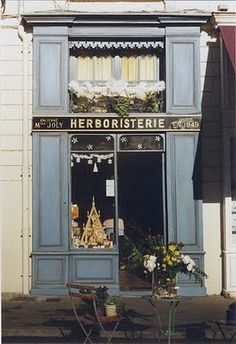 Paris - I love the thousands of small shops throughout the city.