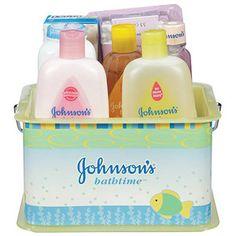 Johnson's Bathtime Essentials Baby Gift Set