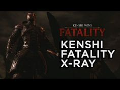 Kenshi's Fatality and X-Ray - Mortal Kombat X Official Gameplay - YouTube