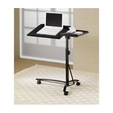 Computer Table On Wheels For Bed Tables Laptop Bedside End Table Couch Pc Stands