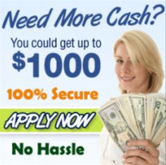 10 Minute Payday Loans Bad Credit - Try us Today. Tell Us How Much Funds You Needs. No Telephone Calls and No Annual Fee.