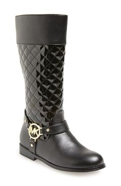 1f583dbb7f98 MICHAEL Michael Kors  Emma  Quilted Boot (Toddler
