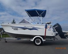 Cool boat | Quintrex 500 Freedom Sport |  #Boating #Boats #BoatsforSale #PowerBoats #TrailerBoatsforSale