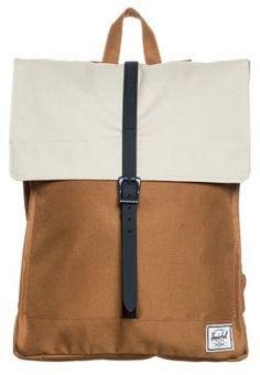 Stylischer Rucksack in architektonischer Kastenform. Herschel CITY - Rucksack - caramel/natural/navy rubber für 64,95 € (05.03.15) versandkostenfrei bei Zalando bestellen.