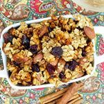 Fall inspired granola