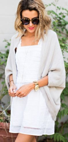 pretty light grey shawl jacket