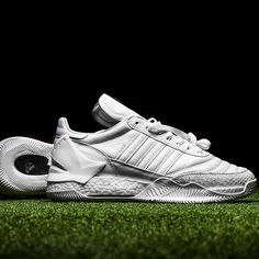"fb1511687006e HIGHSNOBIETY on Instagram  ""Taking a look at  theshoesurgeon s new Friends  and Family  adidas Copa Rose ""White Out"" sneaker.  hskicks"""