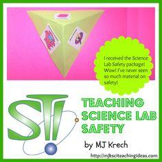 Teaching Science Lab Safety by MJ Krech  http://mjksciteachingideas.com/store.html#safety