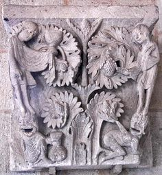 Chapter House Capitals in the Cathedrale St-Lazare, Autun