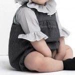 Ranita bebé gris