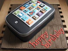 Smartphone Birthday Cake Ideas