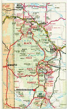 Black Hills National Forest, South Dakota   Places I have been ...