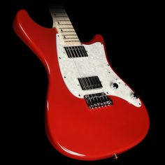 John Page Classic Ashburn HH Electric Guitar Bloodline Red