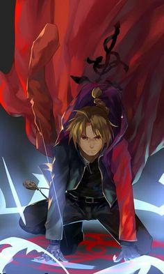 Anime: Fullmetal Alchemist: Brotherhood Personagem: Edward Elric