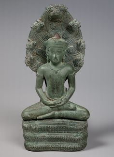 Buddha Sheltered by a Naga
