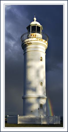 Visit a lighthouse & see inside one ~ Kiama Lighthouse - Kiama, New South Wales
