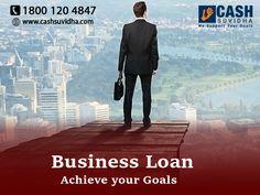 Cash Suvidha - Get Business Loan to Achieve Your Goals #SmallBusinessLoan #LoanforSMEs #ApplyOnline