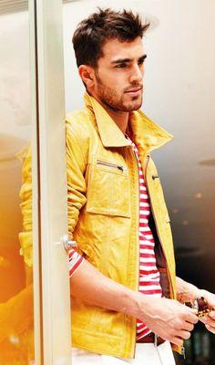 Yellow jacket! #style #fashion