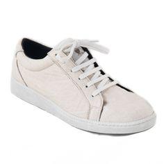 EN& sneakers van ananasblad Basic - white