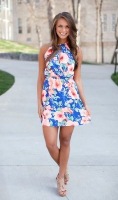 The Pink Lily Boutique - Arms Wide Open Floral Dress, $39.00 (http://thepinklilyboutique.com/arms-wide-open-floral-dress/)