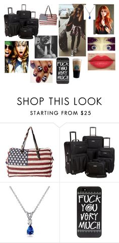 """AFADLT - Londres aí vamos nós - Luana"" by carol-megs ❤ liked on Polyvore featuring Pull&Bear, Rockland Luggage, Blue Nile, Revlon, women's clothing, women, female, woman, misses and juniors"