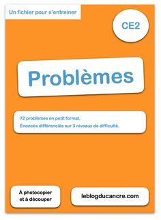 Banque de problèmes CE2
