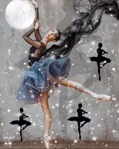 Dancing Girl Images, Girl Dancing, Cute Love Memes, Cute Love Gif, Lovely Girl Image, Cute Girl Photo, Beautiful Fantasy Art, Beautiful Gif, Creative Photography
