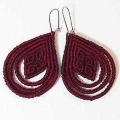Tutorial: Rhombus in loops earring