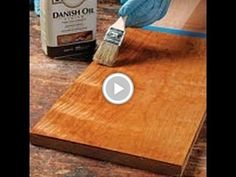 "Mark schofield from ""Fine Woodworking"" shows how to get a perfect glass like finish. The method shown in this video is almost guaranteed to work every time."