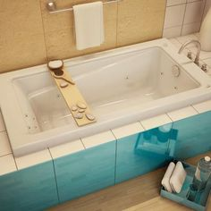 New Town 6032 Alcove Or Drop In Bathtub Advanta By MAAX