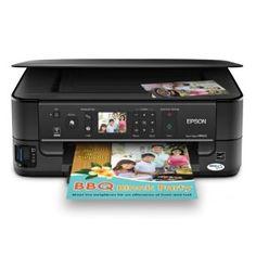 Epson Stylus NX625 Wireless All In One Color Inkjet Printer Copier Scanner
