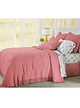 Chic Chenille Bedspread Collection | linensource (get the duvet cover AND the bedspread)